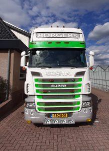 Scania truck JLP Flowers/Kwekerij Borgers