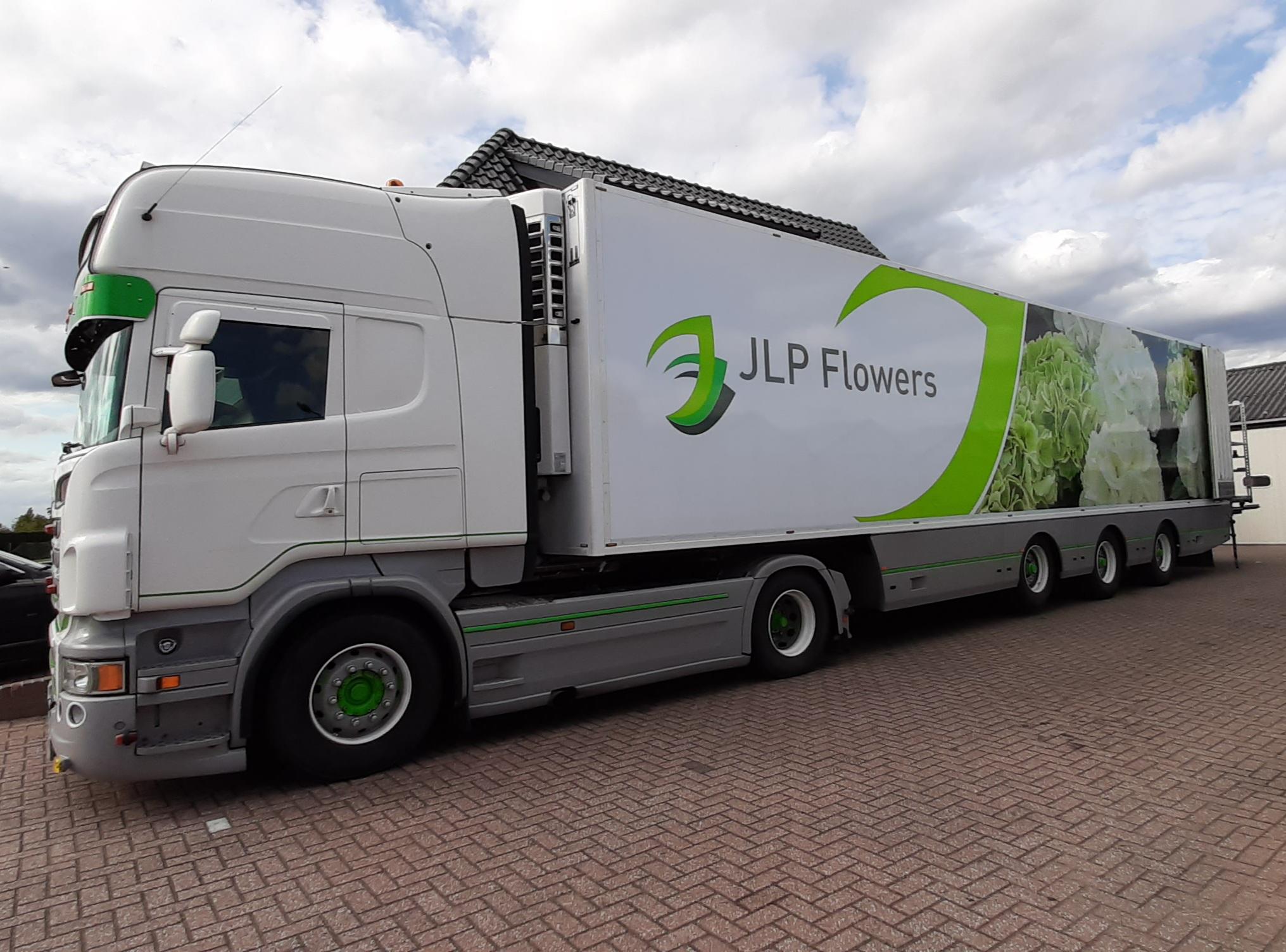 JLP Flowers/Kwekerij Borgers truck